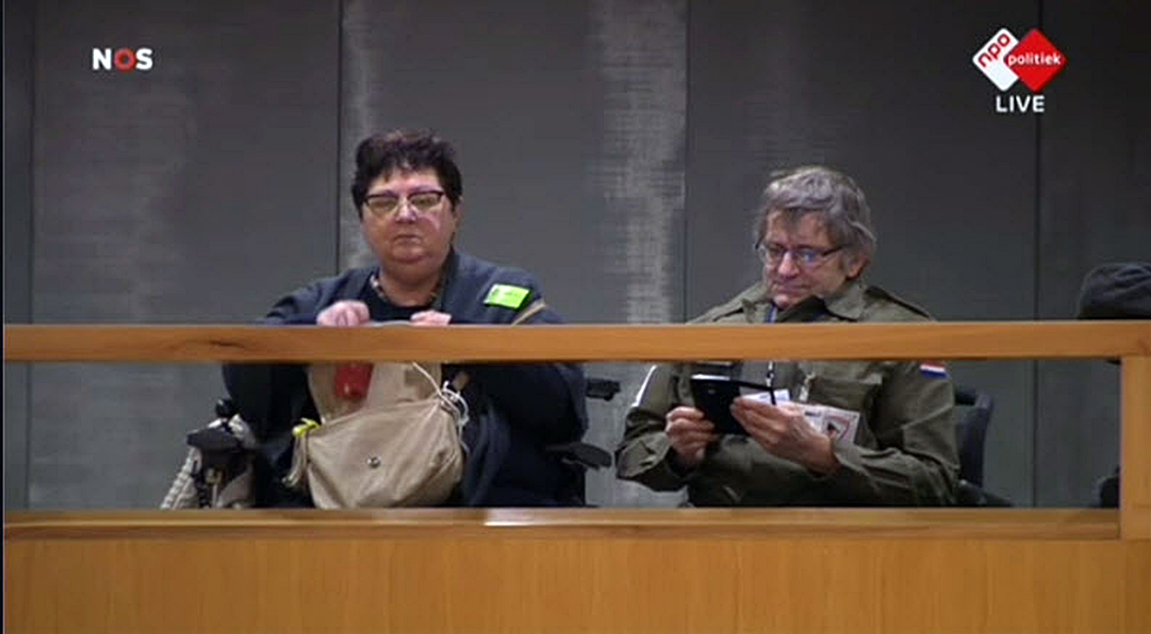 Foto van Terug naar de Bossen op de Publieke Tribune Tweede Kamer